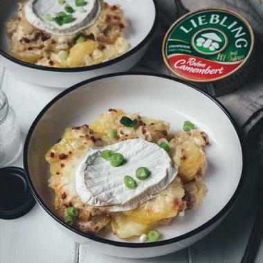 Bildmotiv für Champignon Camembert - Tartiflette mit Camembert