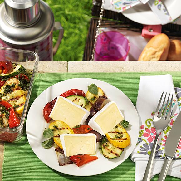 Bildmotiv für Hoch-Genuss - Hoch-Genuss mit mediterranem Grillgemüse