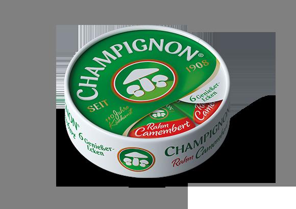Produktbild für CHAMPIGNON Camembert 6 Genießer-Ecken