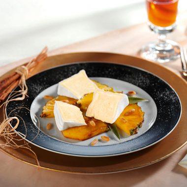 """Bildmotiv für Hoch-Genuss - """"Hoch-Genuss"""" mit karamelisierter Ananas"""